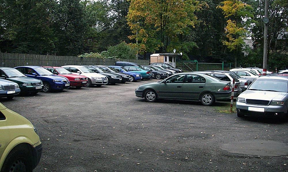 Фото парковки в Домодедово